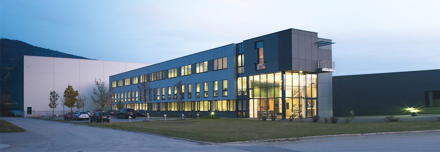 GREENoneTEC Unternehmenszentrale St. Veit