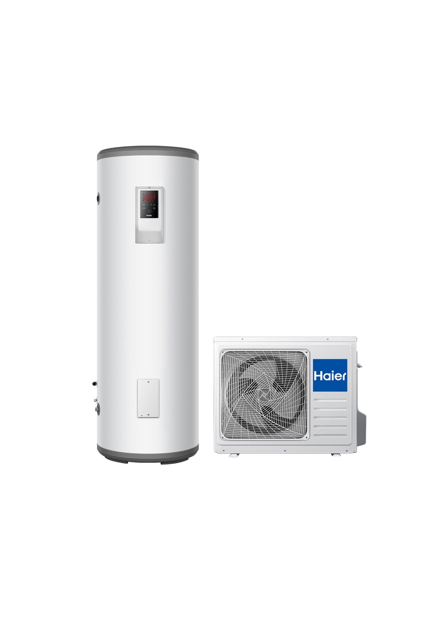 GREENoneTEC Haier Wärmepumpe HPWH S1 extern