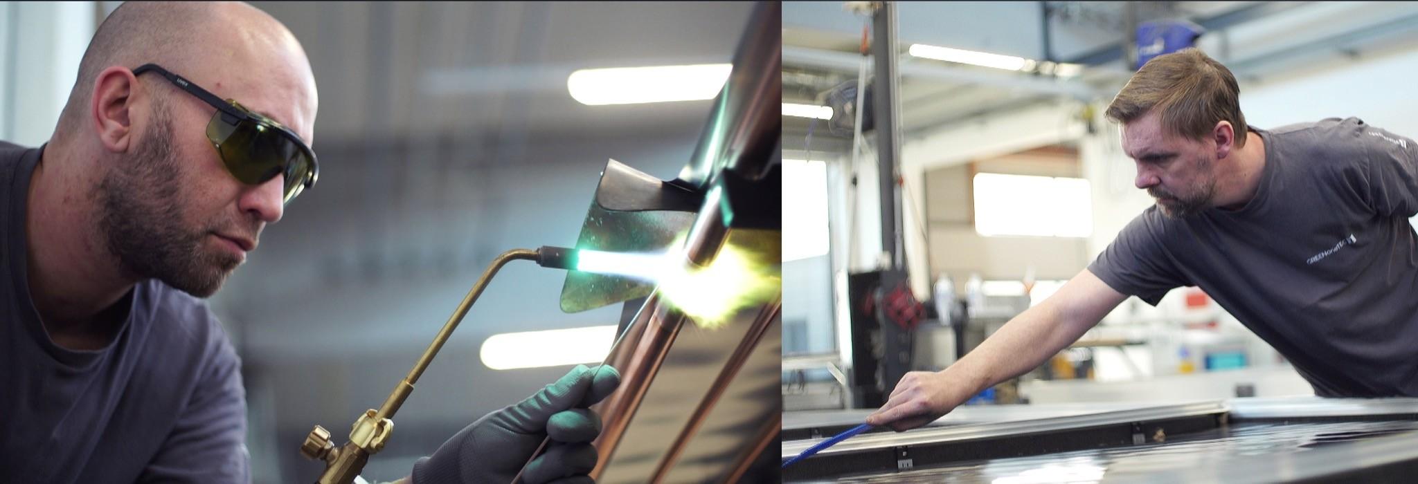 GREENoneTEC Produktion Laser